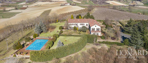 ancient farmstead for sale in monferrato