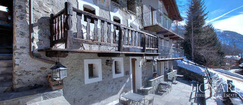 chalet of luxury in valle d aosta