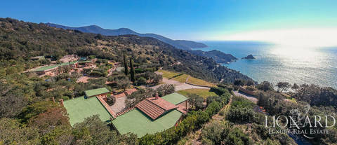 sea front villa monte argentario for sale
