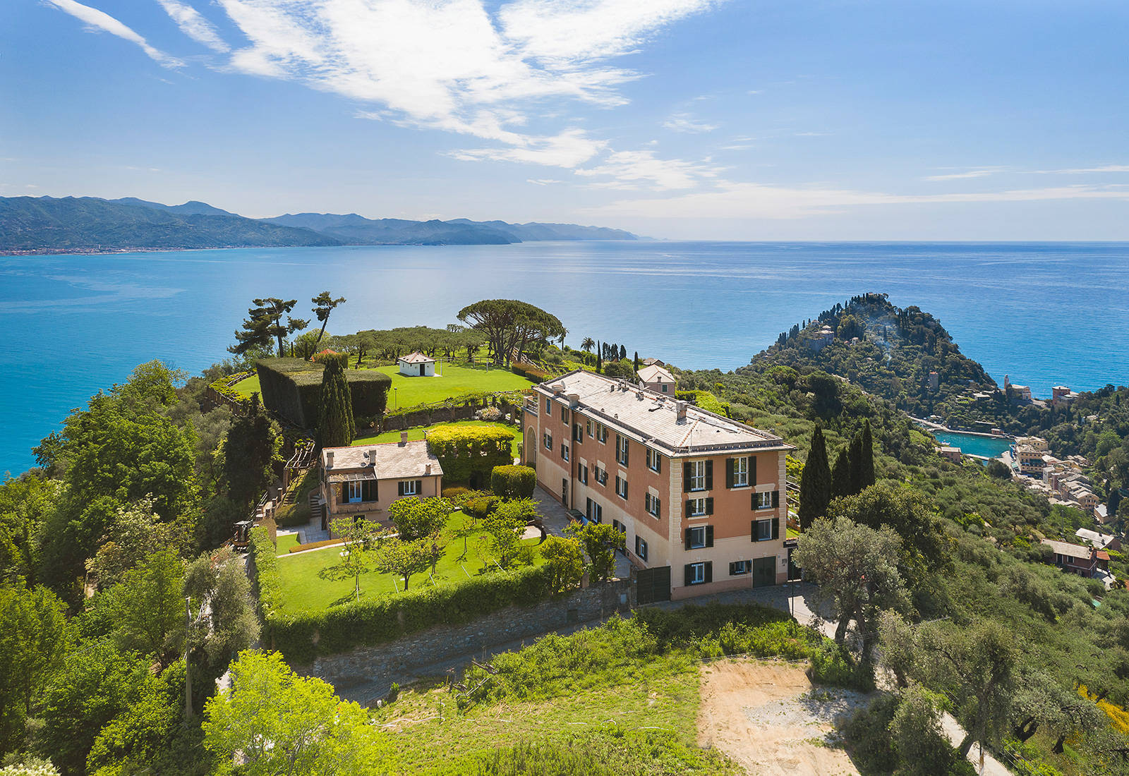 Prestigious sea-front property for sale in Portofino