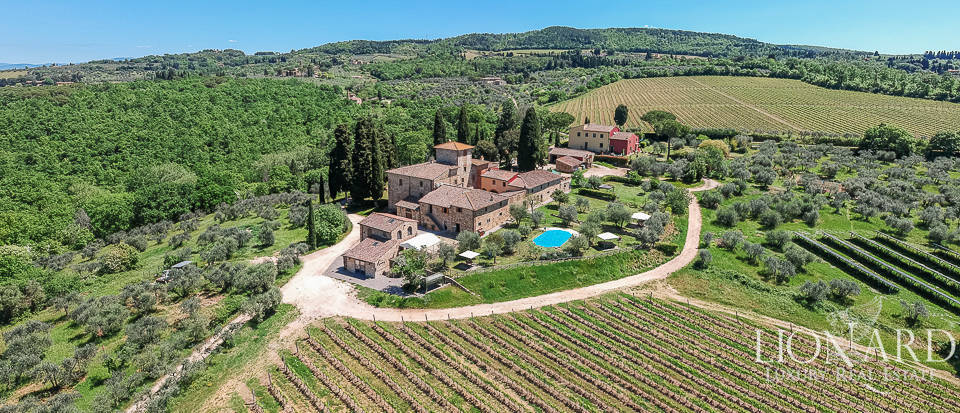 Historical farmstead for sale near San Casciano Image 1