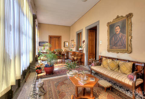 historical luxury villa for sale by lake iseo