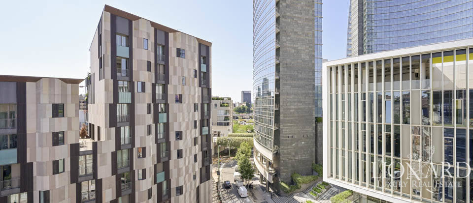 Exclusive penthouse with a wonderful terrace in Milan Porta Nuova Image 1