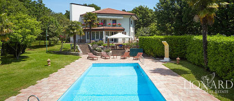 exclusive estate on the gulf of trieste