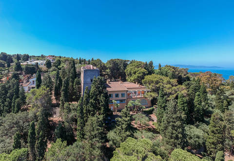 luxury villa tower for sale monte argentario