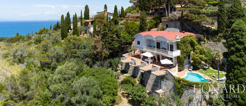 sea facing villa for sale argentario