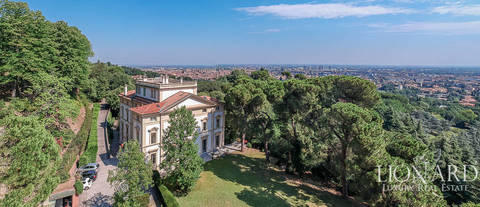 historical villa bologna for sale