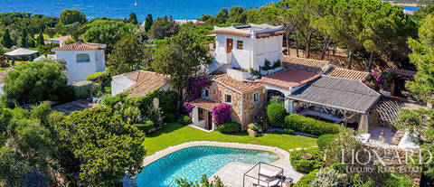 luxury villa in costa smeralda arzachena