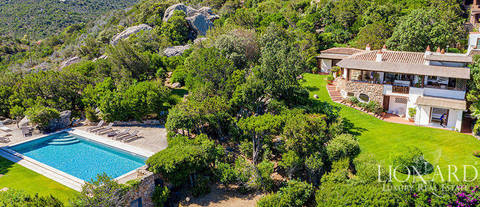 villa costa smeralda sea view for sale