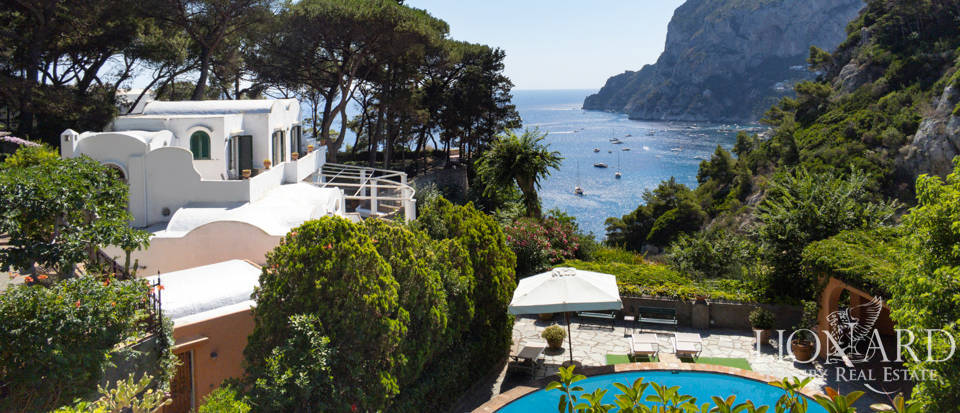 Luxury villa overlooking Capri