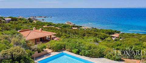 luxury villa sea view sassari