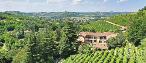 prestigious winery near asti