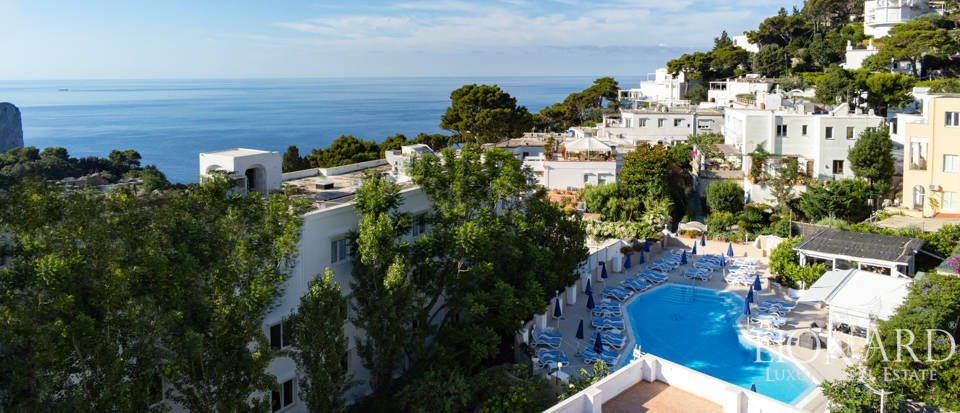 Luxury hotel for sale in Capri Image 1