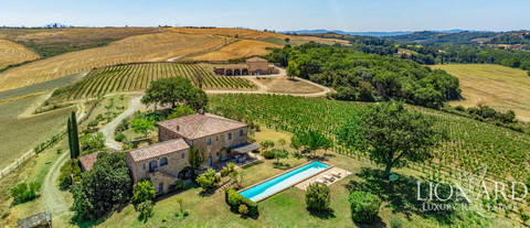 luxury farmstead for sale montalcino