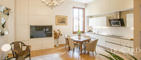 apartment with terrace for sale in florence