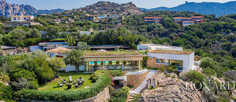 luxury villa sea view sardinia for sale
