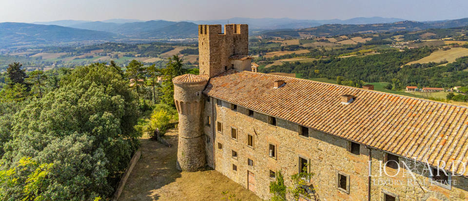 Charming Medieval castle near Perugia Image 1