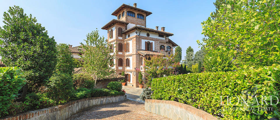 Majestic art-nouveau villa for sale in Monferrato Image 1