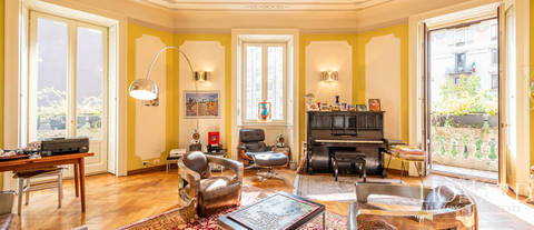 historical luxury apartment for sale milan