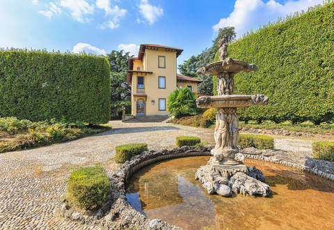 stunning villa surrounded by nature near lecco