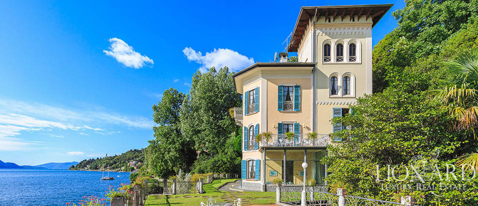 Lake-front Art-Nouveau villa by Lake Maggiore Image 1