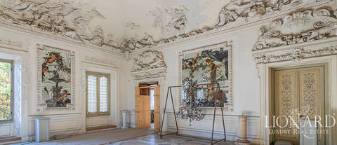 apartment in palazzo serristori for sale florence 7