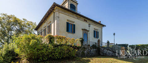 luxury villa with panoramic views for sale borgo san lorenzo