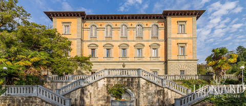 wonderful historical luxury villa for sale camaiore