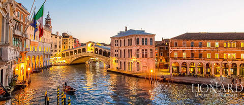 historical luxury palace in venice