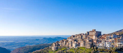 luxury castle with breathtaking views for sale near rome