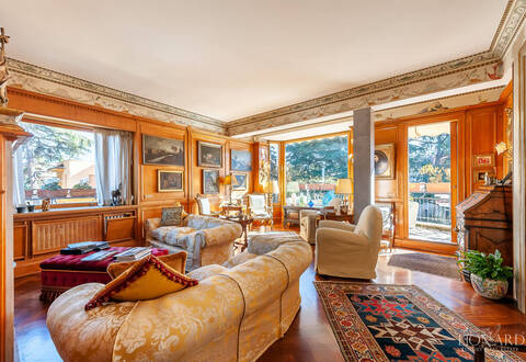 luxury penthouse with terrace for sale in rome parioli