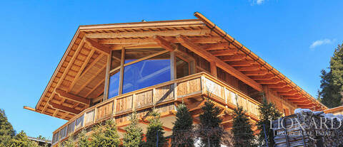 moderno chalet di lusso a ortisei