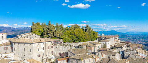 medieval fortress for sale in fumone