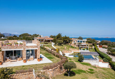 luxury complex by the sea of porto rotondo