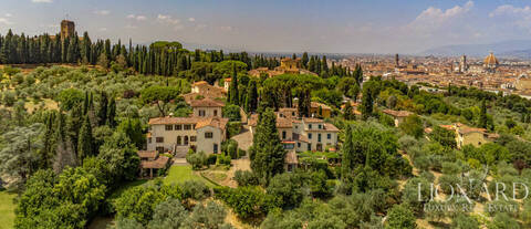 charming panoramic estate above florence