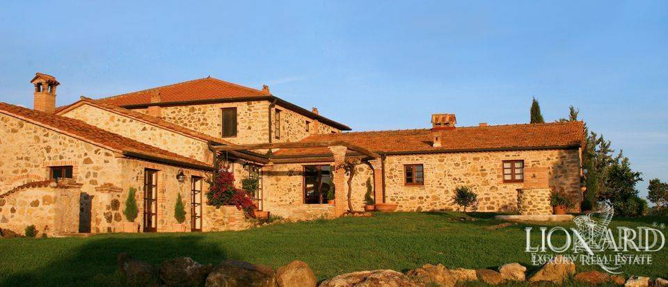 rustic villa for sale in grosseto