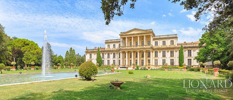 magnificent luxury villa for sale in italy