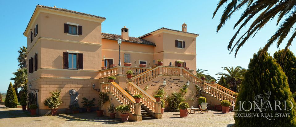 LUXURY VILLA FOR SALE IN TARQUINIA, NEAR ROME Image 1