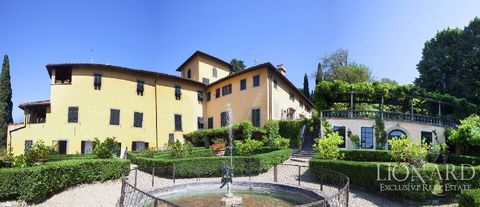 apartment for sale in historical villa in tuscany