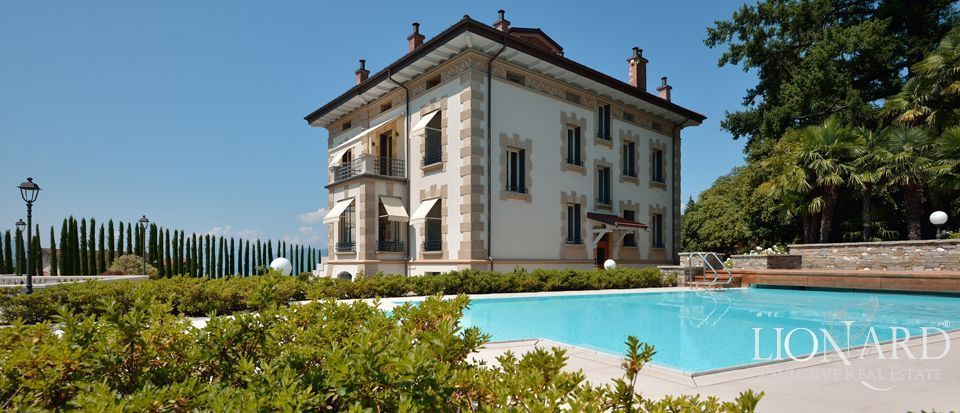 Prestigious House For Sale In Lake Maggiore Lionard