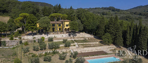 ko luxurious estate in tuscany