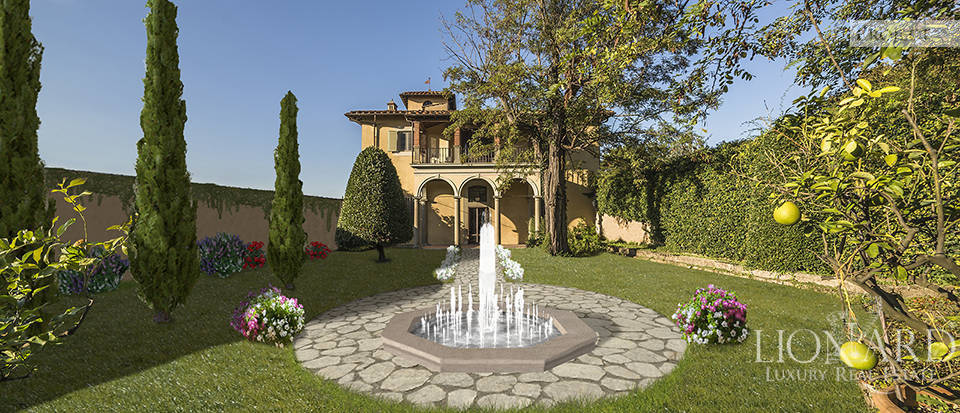 GORGEOUS LUXURY VILLA FOR SALE IN FLORENCE Image 1