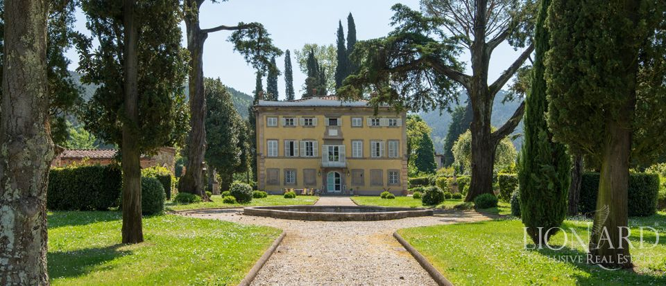 lucca prestigious historic villas for sale