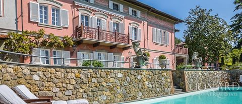 ko luxury villa for sale near pisa
