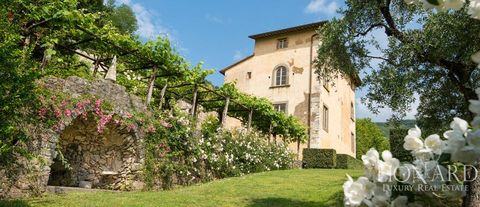 splendid historic villa for sale in lucca