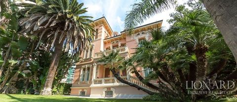 prestigious luxury villa in liguria