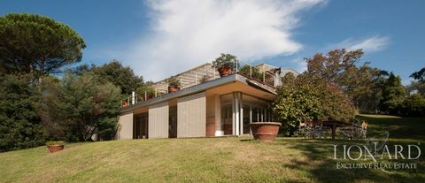 modern luxury villa for sale in lucca