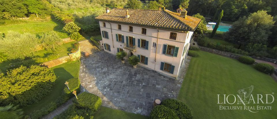 luxury villa in lucca with noble origins