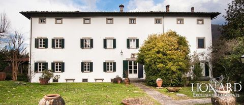 luxury villa sale lucca 19 century