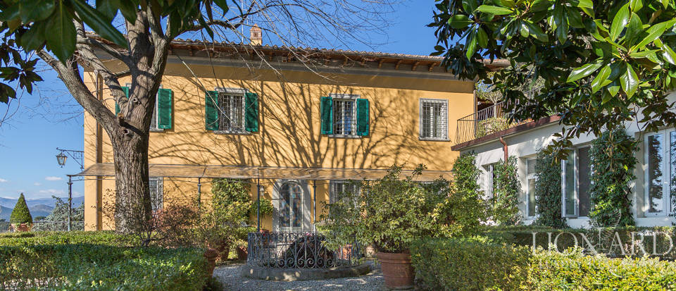 beautiful luxury villa on the hills of prato